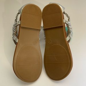 SO Shoes - Girls silver sandals